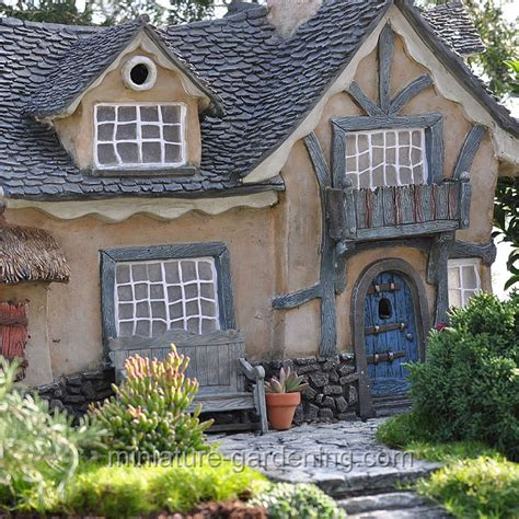 Miniature Cottages by Is It A Garden Or A Miniature Garden Lush