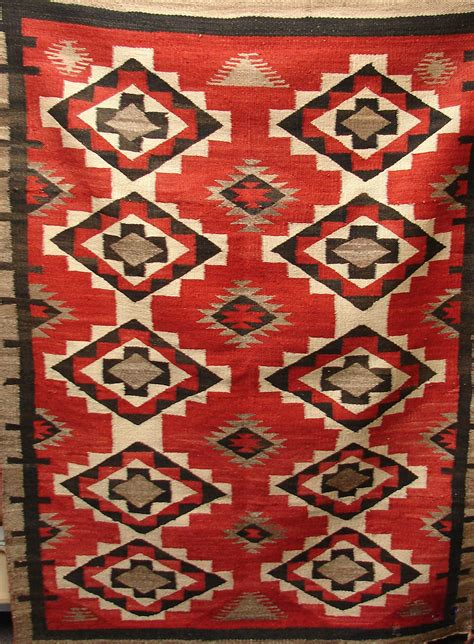 value of navajo rugs rug navajo geometric stepped sawtooth diamonds 56 inch
