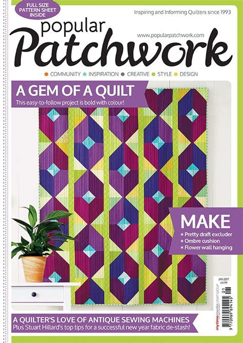 Popular Patchwork - popular patchwork january 2017 news