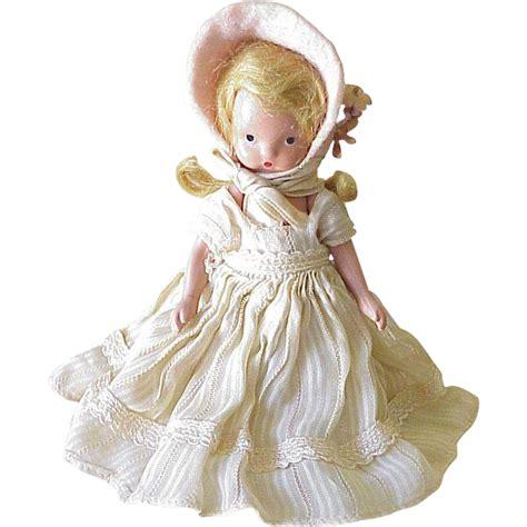bisque storybook dolls vintage nancy storybook doll circa 1940 s bisque from