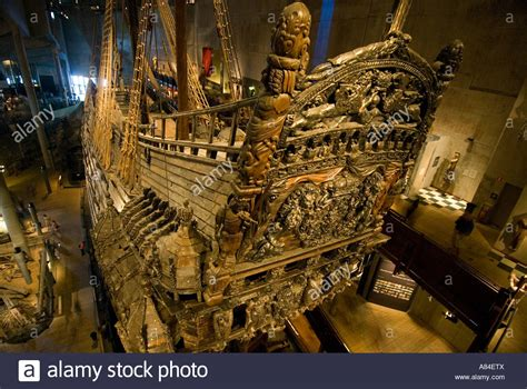 vasa ship the wreck of the timber warship the vasa in the vasa