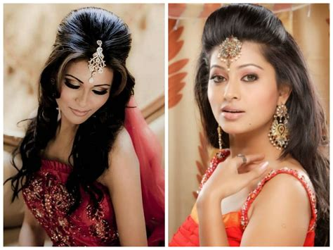 Indian Wedding Hairstyles For Medium Hair indian wedding hairstyle ideas for medium length hair