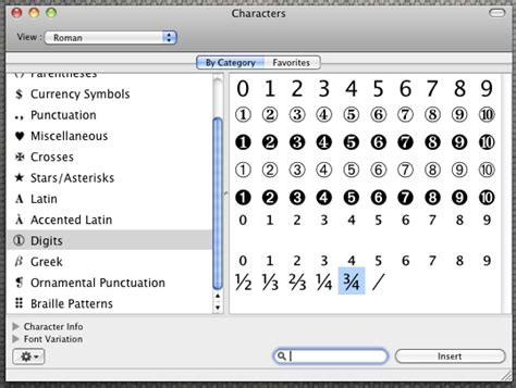 section sign on mac fractions on the mac jyther