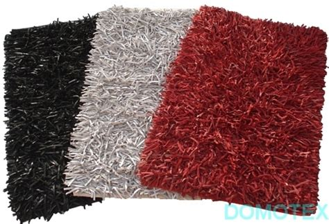 noodle shaggy rugs shaggy rugs exporters india attractive leather noodle shaggy rugs exporter from new delhi