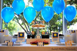 Graduation party dessert table and candy buffet ideas sweet city