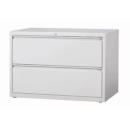 workpro 2 drawer file cabinet workpro 42 w 2 drawer steel lateral file cabinet light