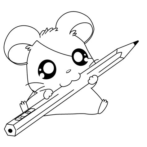 hamster coloring pages coloring home