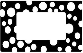 black and white label templates black and white label templates pictures to pin on pinsdaddy