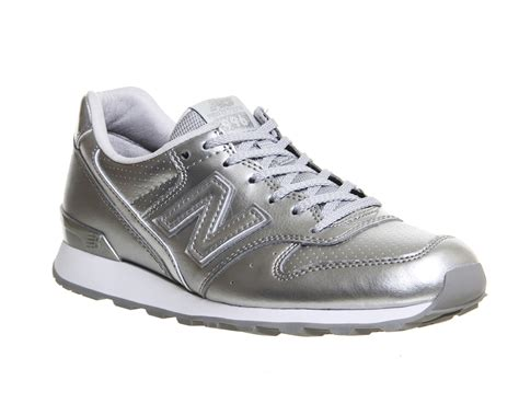 New Balance Silver Brown new balance 996 silver mono hers exclusives