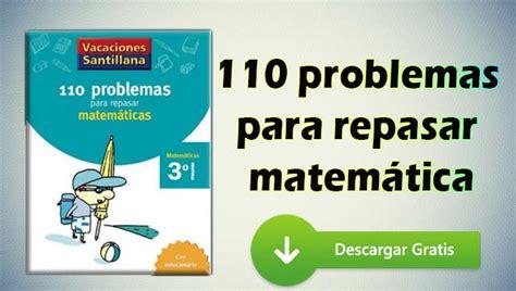 descargar libros uned matematicas pdf 110 problemas para repasar matem 225 ticas pdf portal de educaci 243 n