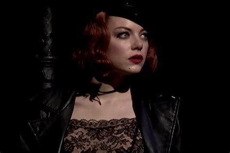 emma stone broadway emma stone dazzles in cabaret teaser video