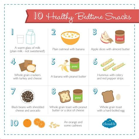 Tips Articles Healthy Snacking Habits by 10 Healthy Bedtime Snacks That Help Promote Sleep