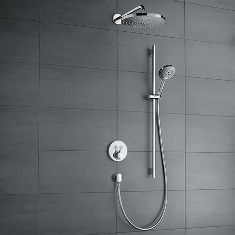 hansgrohe homepage hansgrohe shower select met hoofddouche en glijstang
