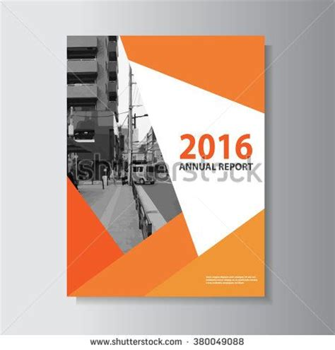 layout of a cover creative orange vector leaflet brochure flyer template a4
