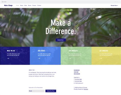 blogger templates for ngo 603 best wix website templates images on pinterest