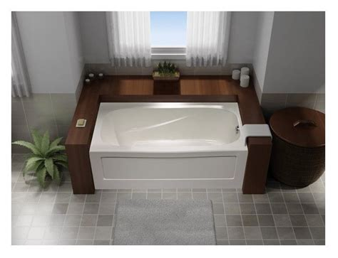 mirolin bathtub mirolin tucson tucson 60 in l x 32 in w x 20 in h white acrylic oval in rectangle