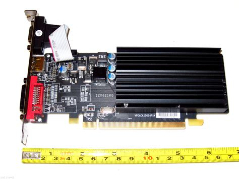ati 2gb pci express pci e x16 dual monitor display view graphics vga card ebay