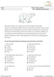 Reading Comprehension With Choice Questions Worksheets by 51 Best Images About Comprehensions Primary Leap On