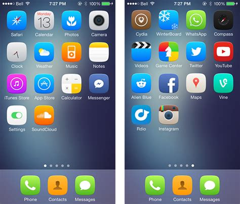 android themes on iphone best winterboard themes for iphone 2014 android iphone