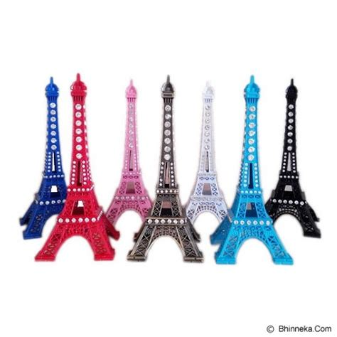 Miniatur Pajangan Menara Eiffel jual barang unik 88 miniatur menara eiffel 18cm murah bhinneka