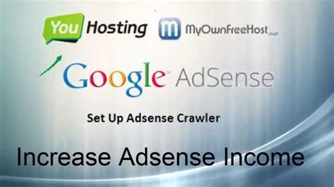 google adsense sign up tutorial set up adsense crawler for youhosting or mofh to boost