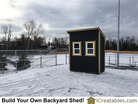 Alaska Shed by Boy Scout Eagle Project Storage Shed Eagle Project