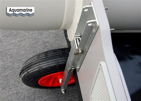 launching wheels for inflatable aluminum boat - Aluminum Boat Launching Wheels