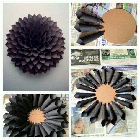 How To Make Construction Paper Roses - construction paper flowers ideas for crafts