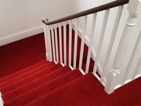 Red Stairs, Portfolio Carpets   The Flooring Group