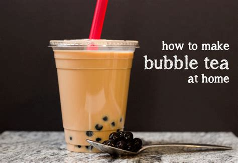 how to make tea boba at home noshon it