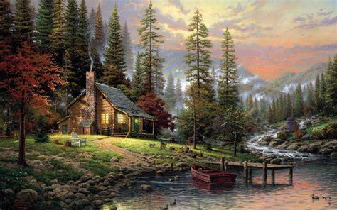 log cabin wallpaper wallpapertag