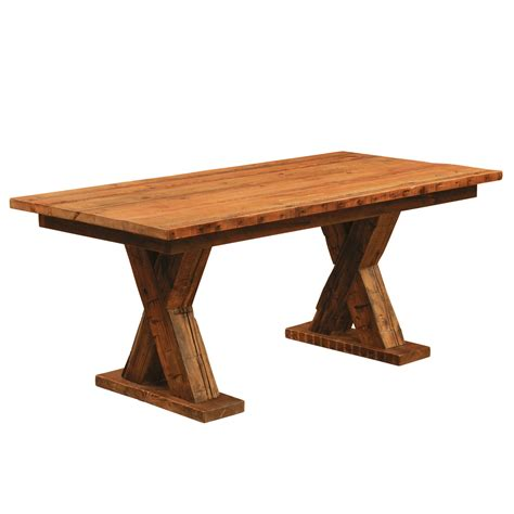 board table furniture reclaimed beam board dining table the log furniture store