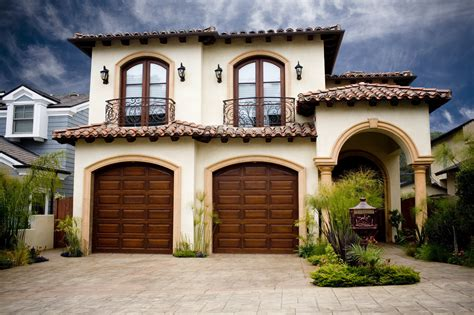 garage style homes decorative concrete to enhance your home style all