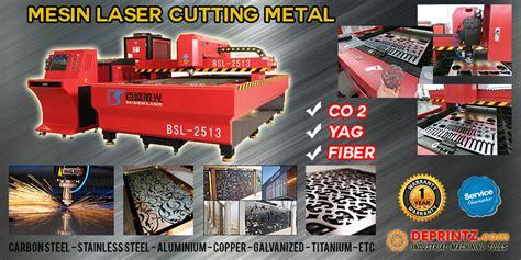 Jual Sho Metal Semarang jual mesin laser cutting metal fiber plat metal besi stainless aluminium harga murah surabaya