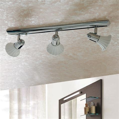 illuminazione soffitto bagno lada ceramica parete soffitto spot orientabili con