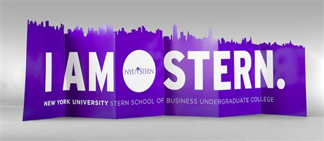 Nyu Mba Start Date by Laser Cut I Am Folding Banner Three Steps Ahead