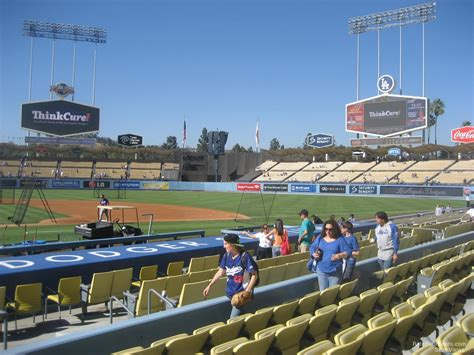 section 16 a dodger stadium section 16 rateyourseats com