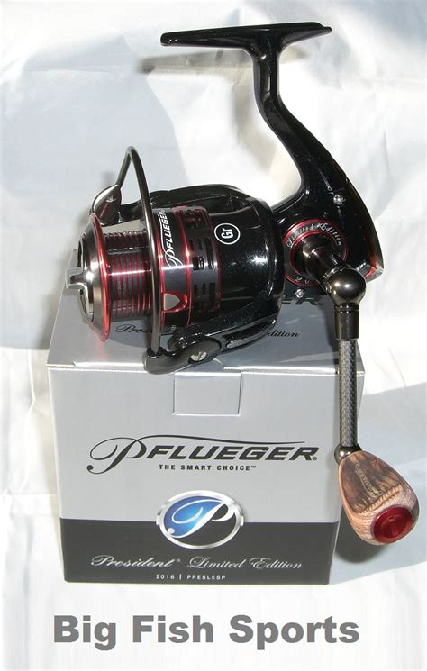 New Packing Afroskin Original Limited pflueger president limited edition spinning reel free usa