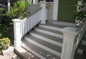 front steps railings and newel posts porch pinterest