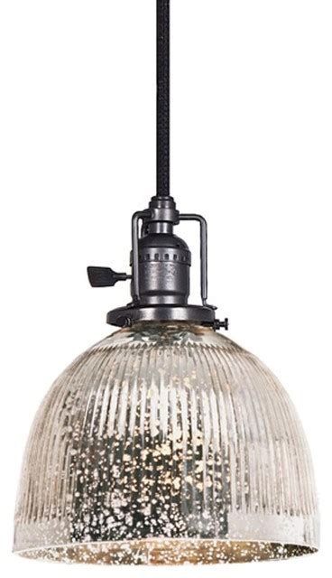 mercury glass globes with lights ribbed dome mercury glass shade pendant 3 finishes