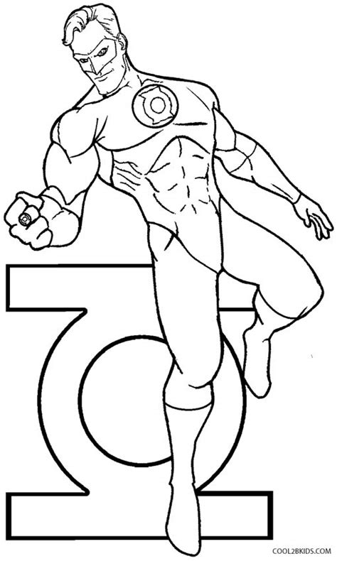 Printable Green Lantern Coloring Pages For Kids Cool2bkids Color Chkids Green Lanter