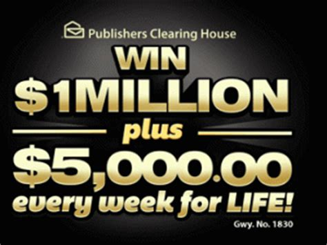 Win 10 Million Pch - win 1 million pch publishers clearing house sweepstakes sweeps maniac
