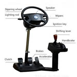 Steering Wheel Pc Simulator Laishida Qishi Pxn Mx 006 Pc Computer Racing Wheel