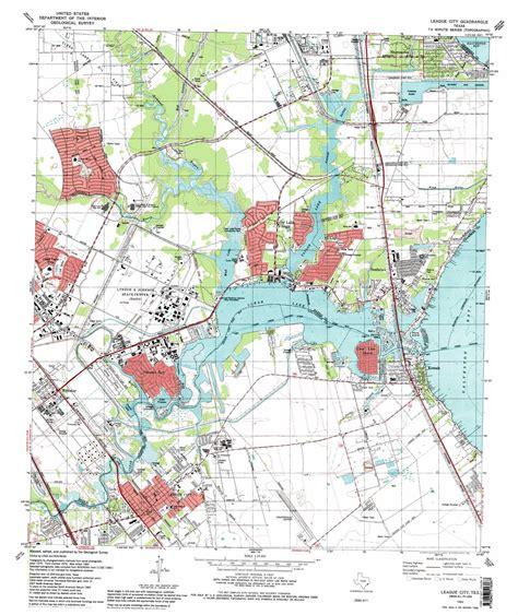 map of league city texas league city topographic map tx usgs topo 29095e1