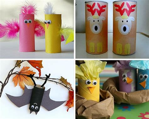 Toilet Paper Roll Crafts Animals - animal crafts for 27 crafts with toilet paper rolls