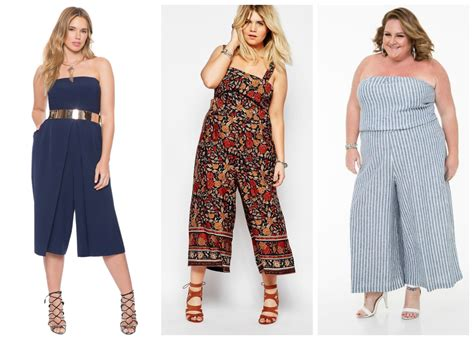 Cropped Jumpsuit plus size cropped jumpsuits