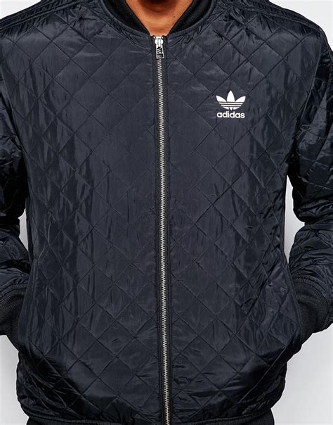 Adidas Originals Quilted Jacket by Adidas Originals Quilted Jacket Ab7862 In Black For Lyst