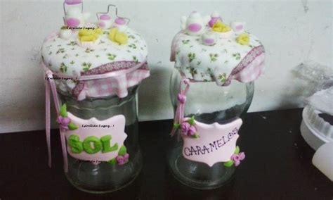 decoracion de frascos de vidrio con porcelana fria frasco de vidrio decorado en porcelana fria d nq np 197101