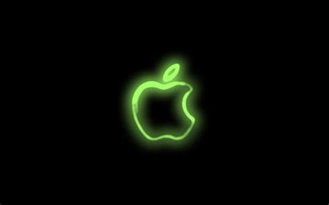 Wallpaper Apple Neon | apple neon wallpaper by iville on deviantart