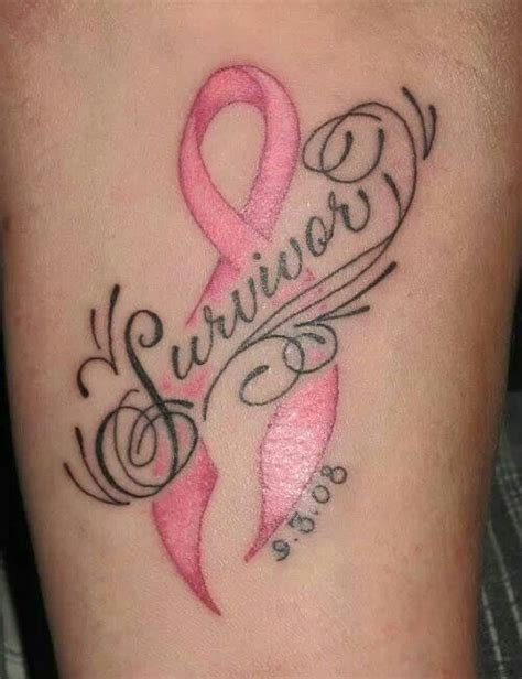 6 month tattoo breast cancer survivor found on would
